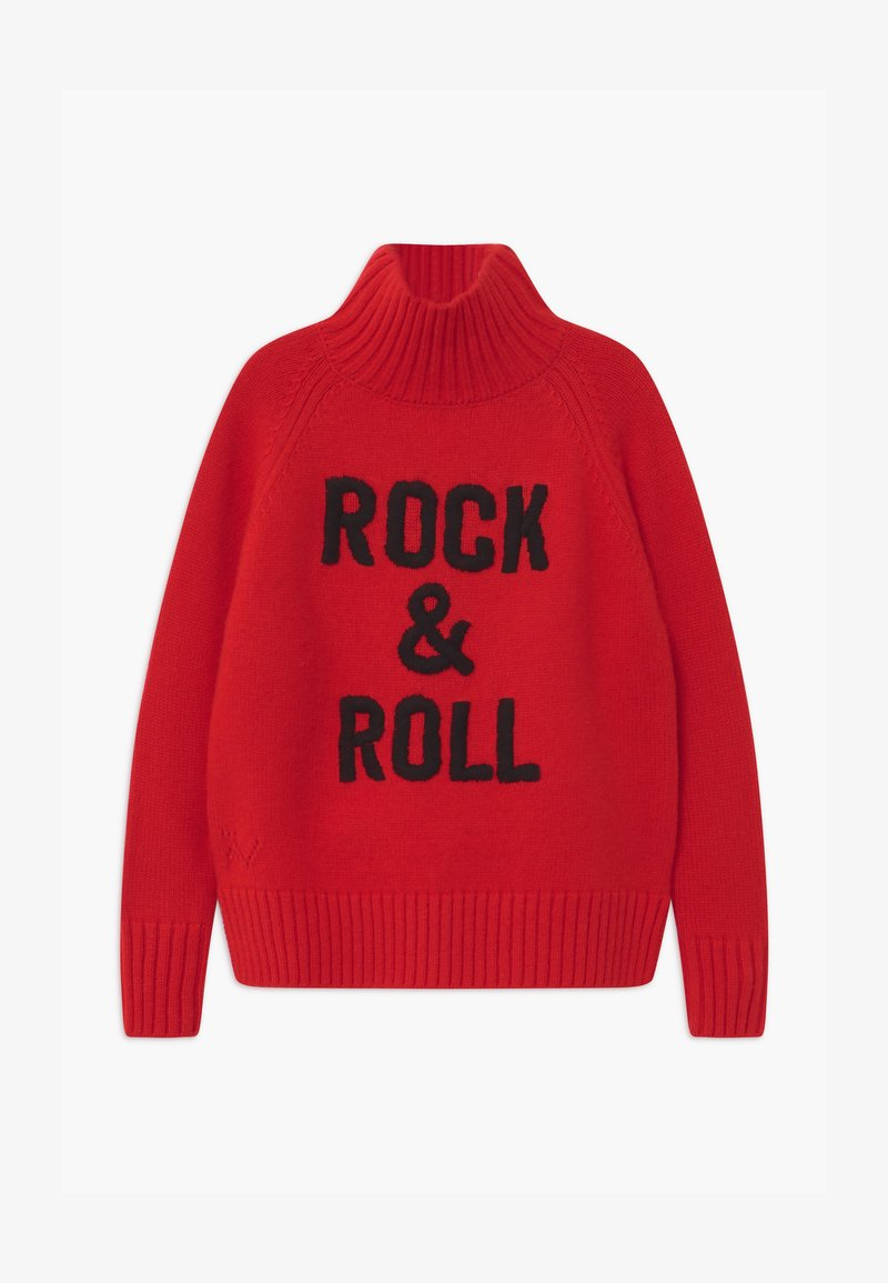 Zadig & Voltaire - POLO NECK - Trui - bright red