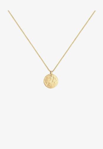 PLATE VINTAGE LOOK - Ketting - gold
