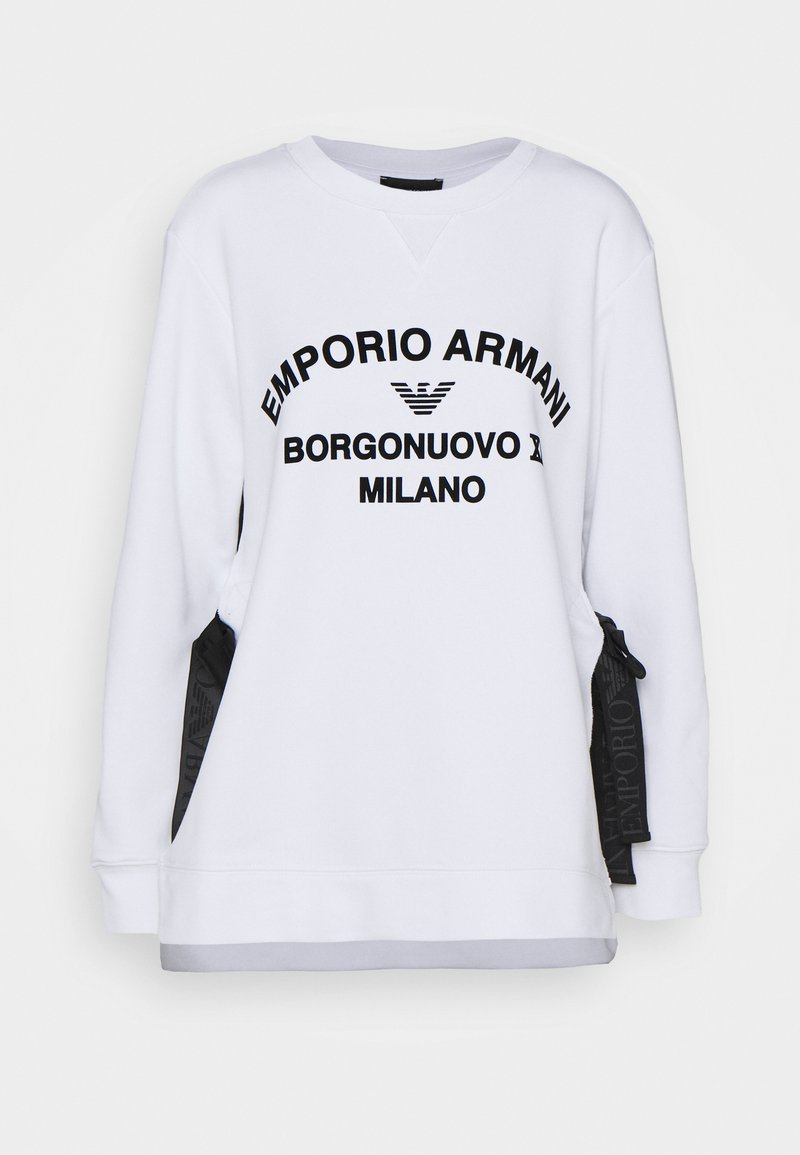 Emporio Armani - Sweatshirt - bianco ottico