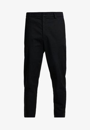 TAPERED  - Chino kalhoty - black