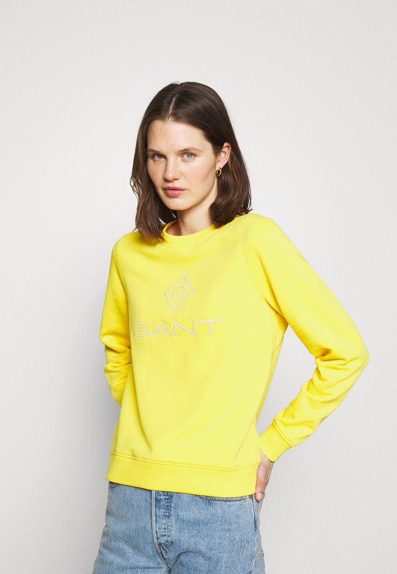 GANT - LOCK UP - Mikina - solar power yellow