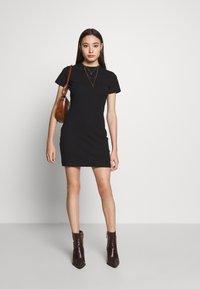 Even&Odd Petite - Day dress - black - 2