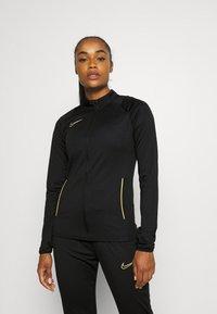 Nike Performance - ACADEMY 21 TRACKSUIT - Treningsdress - black/saturn gold - 3