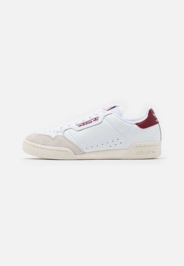 CONTINENTAL 80 SPORTS INSPIRED SHOES UNISEX - Zapatillas - footwear white/burgundy/offwhite