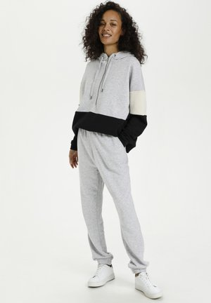 Tracksuit bottoms - grey melange