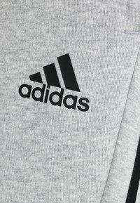 adidas Performance - MUST HAVES SPORT TIRO SLIM FIT PANT - Pantalon de survêtement - medium grey heather/black - 5