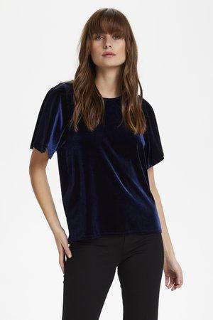 VANDA BL - Blouse - medieval blue