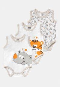 Jacky Baby - 3 PACK UNISEX - Body - white - 0