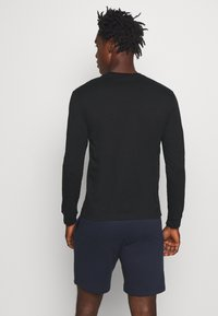 Champion - ROCHESTER CREWNECK LONG SLEEVE - Long sleeved top - black - 2