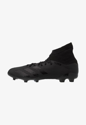 PREDATOR 20.3 FG - Moulded stud football boots - core black/ solid grey