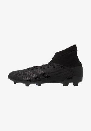 PREDATOR 20.3 FG - Botas de fútbol con tacos - core black/ solid grey