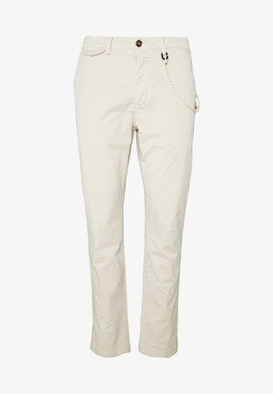 ATELIER CROPPED - Kalhoty - barely beige
