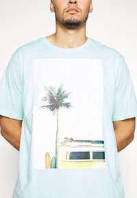 Jack´s Sportswear - SURF - Print T-shirt - hellblau - 4