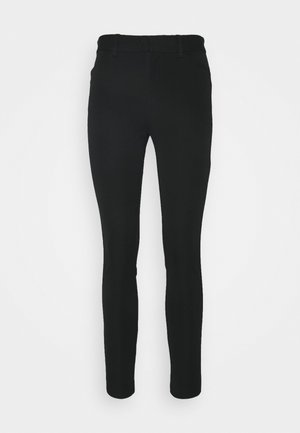 BISTRETCH LONG - Trousers - true black