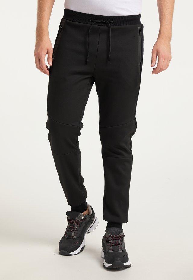 Teplákové kalhoty - schwarz schwarz