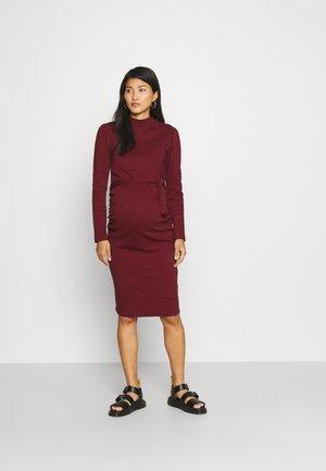 DRESS HURON - Žerzejové šaty - syrah
