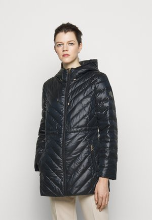 PEARL SHEEN - Down coat - navy