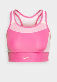 POCKET BRA PAD - Medium support sports bra - pinksicle/pink rise/melon tint