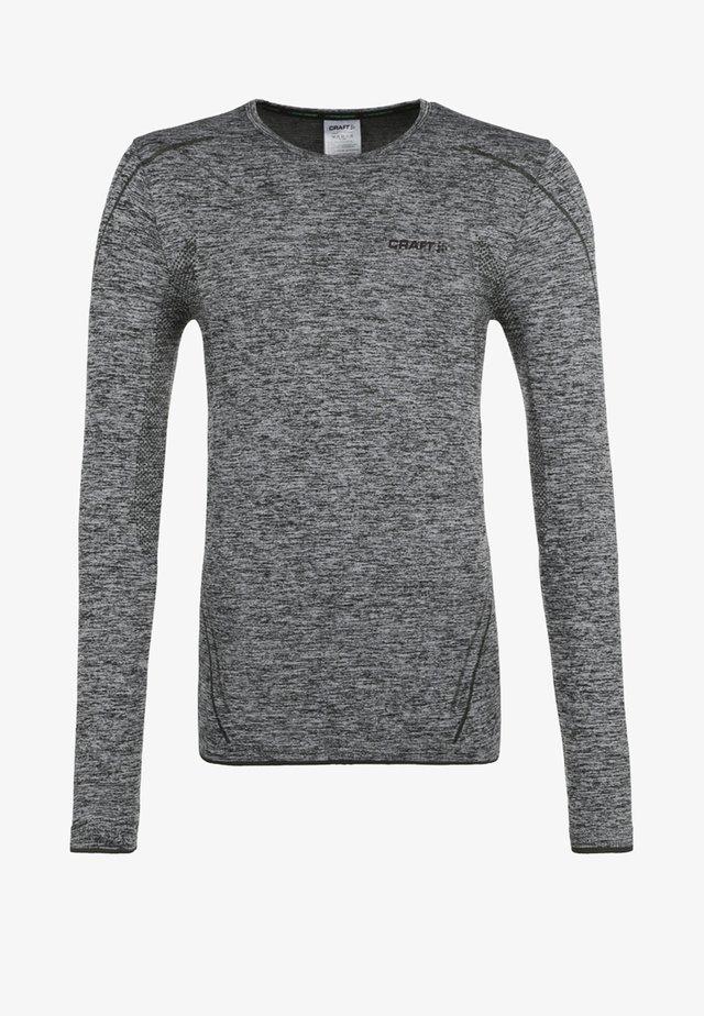 ACTIVE COMFORT - Long sleeved top - black