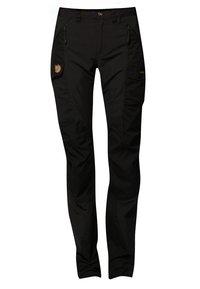 Fjällräven - NIKKA - Trousers - black - 0