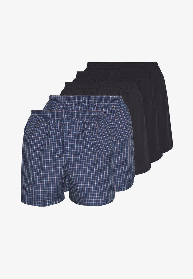 5 PACK - Boxer shorts - dark blue/blue