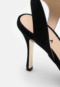 Furla - CODE SLINGBACK  - High heels - nero - 4
