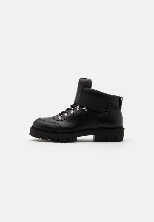 SHORT BOOTS - Lace-up ankle boots - black