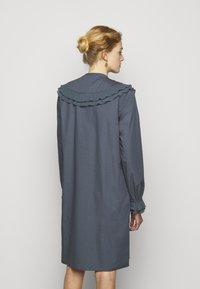 Bruuns Bazaar - POSY EBEN DRESS - Shirt dress - graystone - 0