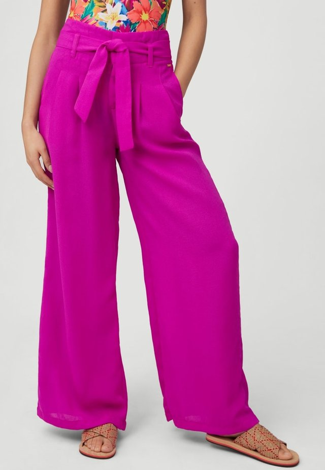 Pantalon classique - vivid viola