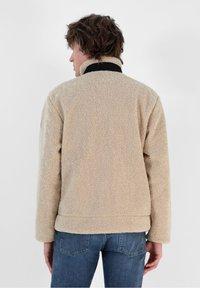 Scalpers - REVERSIBLE - Fleece jacket - beige - 2