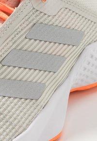 adidas Performance - ADIZERO CLUB - Multicourt tennis shoes - orbit grey/silver metallic/signal orange - 5