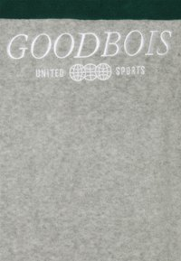 GOODBOIS - BLOCK HALFZIP - Fleecová mikina - forest/heather grey - 2