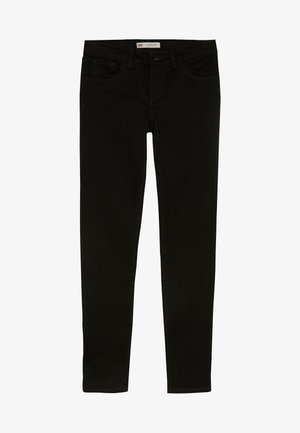 710 SUPER SKINNY - Jeansy Skinny Fit - rinsed black