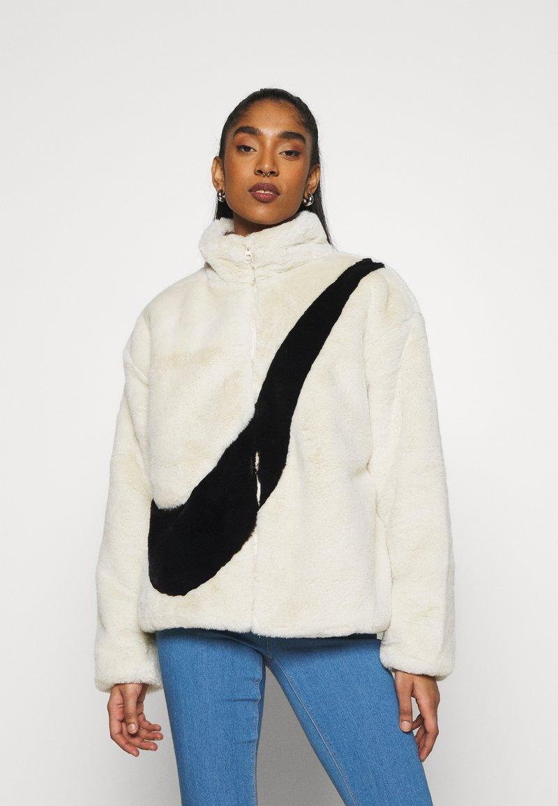 Nike Sportswear - Winter jacket - fossil/black