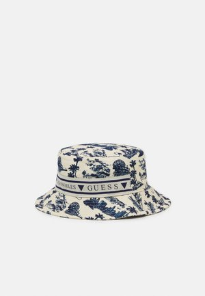 BUCKET HAT UNISEX - Hut - white/blue