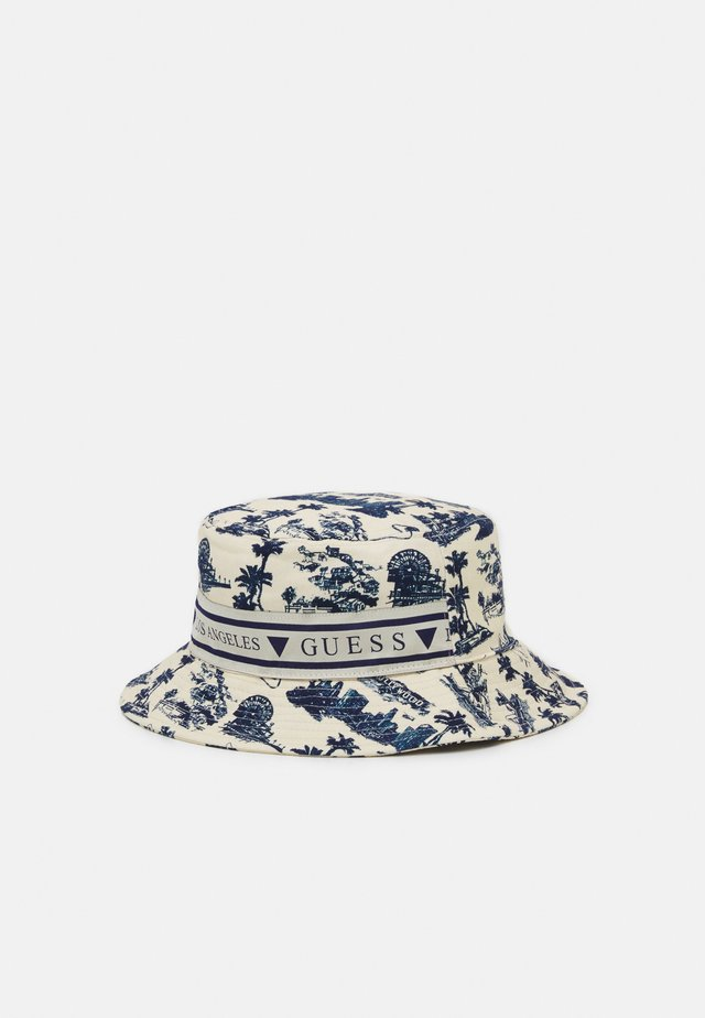 BUCKET HAT UNISEX - Hat - white/blue