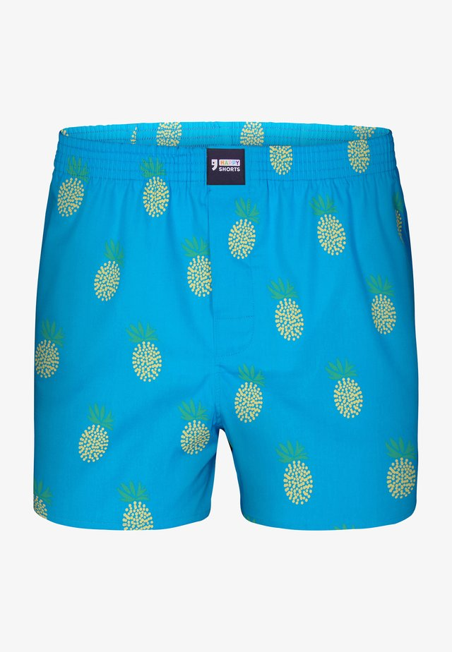 HAPPY AMERICAN - Boksershorts - pineapple