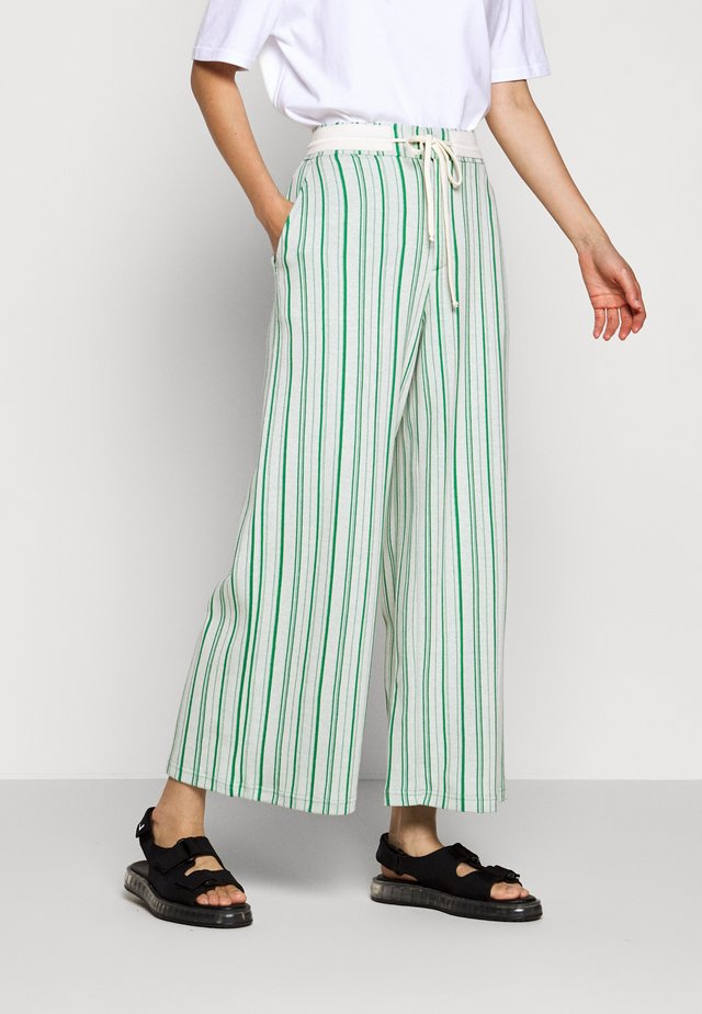 MARKVEIEN TROUSER - Trousers - green