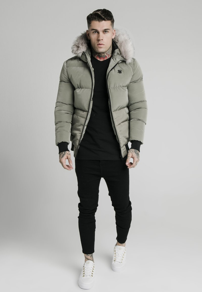 SIKSILK - DISTANCE JACKET - Winter jacket - khaki