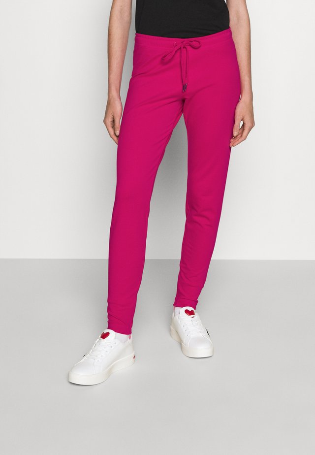 Teplákové kalhoty - fuchsia