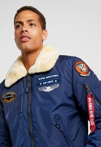 Alpha Industries - INJECTOR  AIR FORCE - Blouson Bomber - new navy - 4