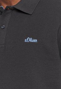 s.Oliver - KURZARM - Polo shirt - black - 5