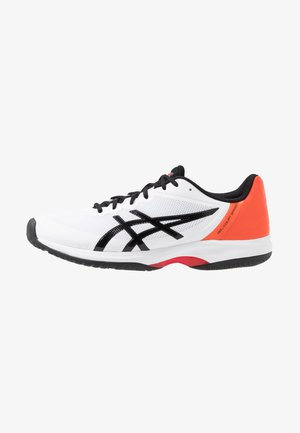 GEL-COURT SPEED - Clay court tennis shoes - white/black