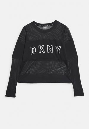 BLOCKED CREWNECK - Sweatshirt - black