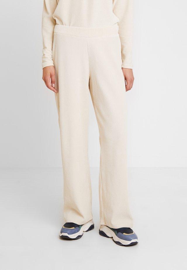 LILLIAN PANTS - Pantalon classique - warm off white
