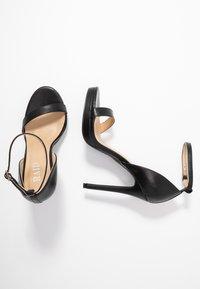 RAID - REAGAN - Sandály na vysokém podpatku - black - 3