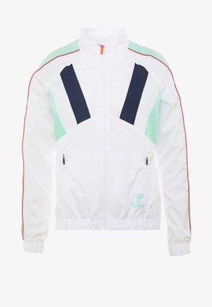 TROPHY ZIP JACKET - Sportovní bunda - white