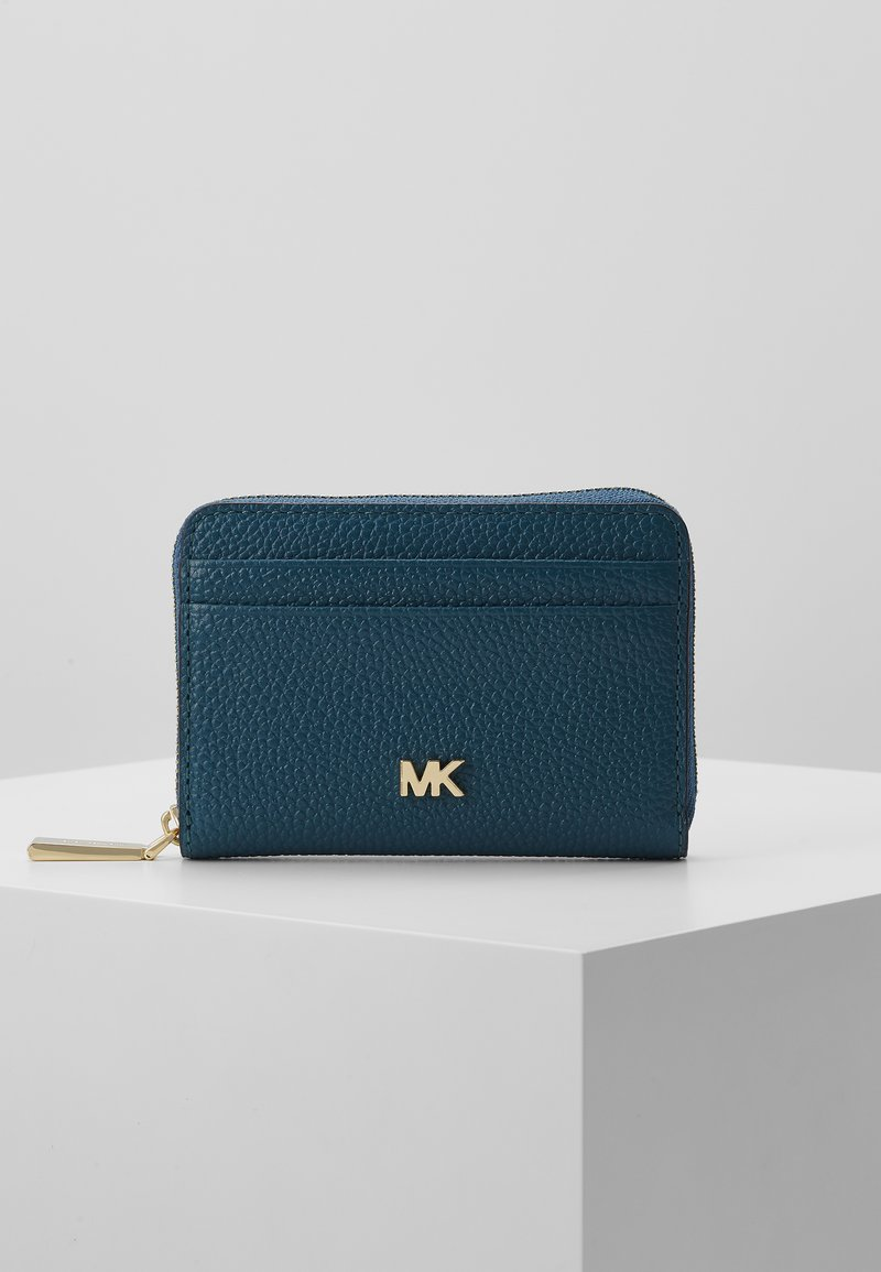MICHAEL Michael Kors - COIN CARD CASE MERCER - Lommebok - dark cyan