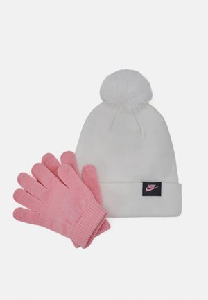 FUTURA BEANIE GLOVE SET - Rukavice - white