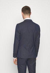 Selected Homme - SLHSLIM MAZELOGAN - Suit - medium blue melange - 3